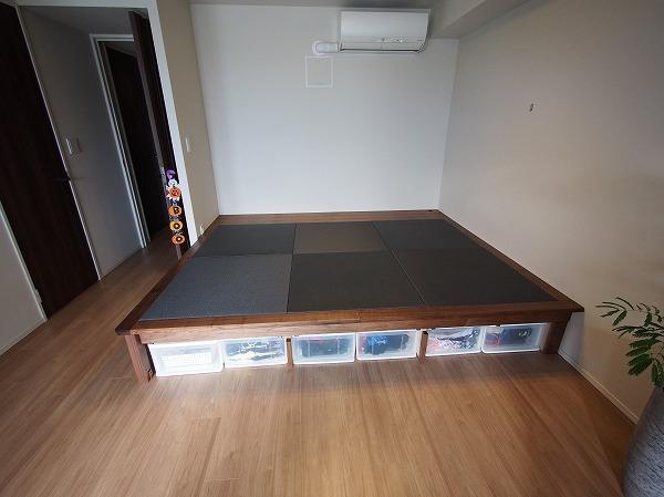 高床式畳コーナー