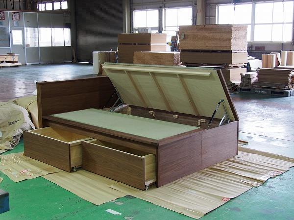畳ベッド 収納