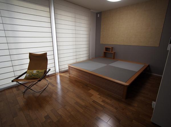 デザイン畳ベッド