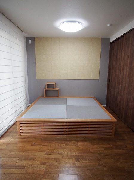 畳ベッドのあるお部屋