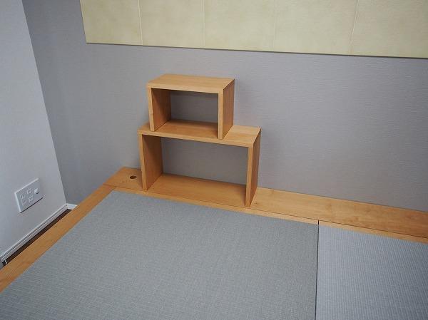 畳ベッド 飾り棚