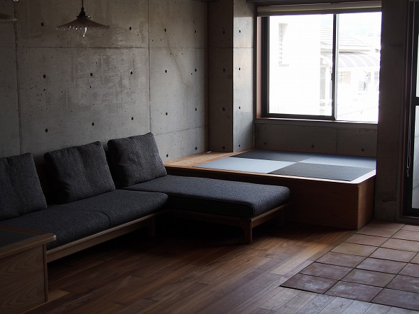 畳ベッドのある風景