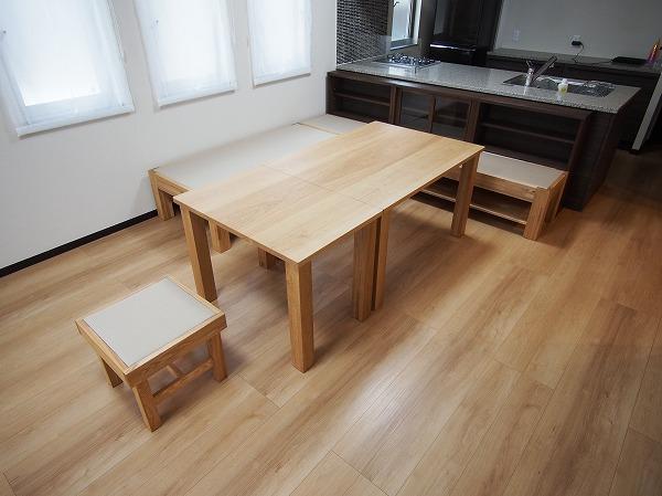 畳ベンチ ダイニングテーブル