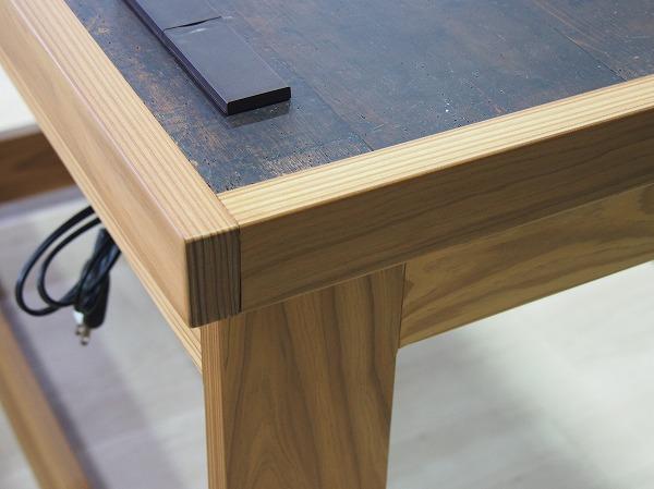 杉圧縮材 テーブル