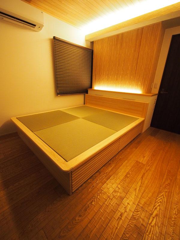畳ベッド 無垢材 日本製 飛騨フォレスト