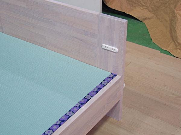 畳ベッド 白 コンセント オーダー