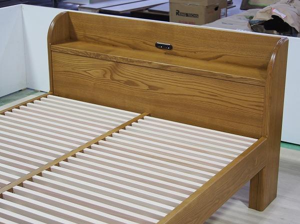 クリ材ベッド オーダーベッド