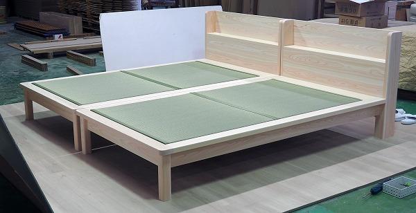 畳ベッド ひのき 桧