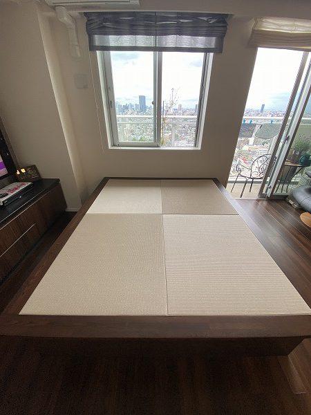 小上がり 畳ベッド ダイケン畳 ウレタン塗装