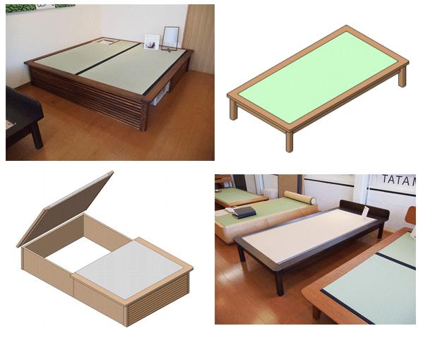 展示会 畳ベッド ユニット畳
