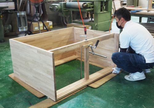 オーダー畳ベッド 製作