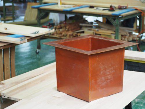 ユニット茶室 炉壇
