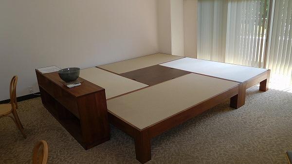 畳ベッド 介護施設 共有スペース 畳ベンチ