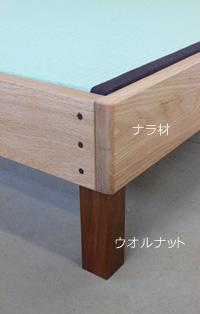 Fタイプの畳ベッド下は20cm