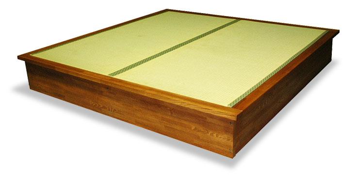 Pタイプの畳ベッド