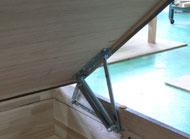ハーフェレ社の金具を使用した畳ベッド