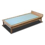 畳ベッド Sタイプ-タモ
