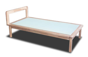 畳ベッド ベッド下にスーツケース収納