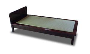 畳ベッド 無垢 拭き漆仕上げ