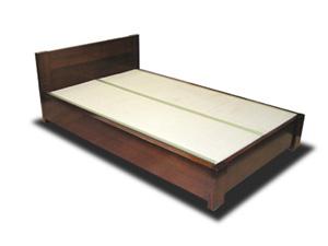 畳ベッド 漆仕上げ ナラ材