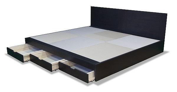 畳ベッド 大きいサイズ 引き出し
