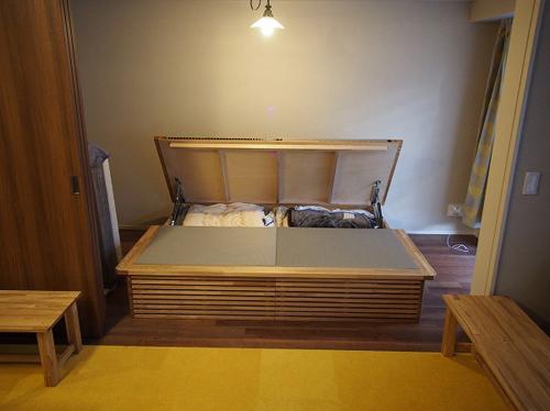 畳ベッド 跳ね上げ収納 オーダー