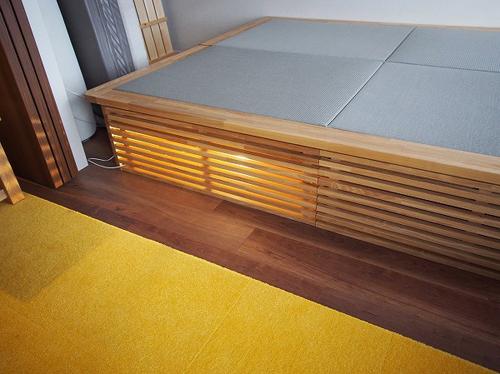 畳ベッド LEDライト