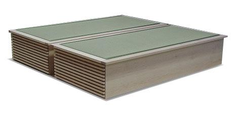 畳ベッド 収納 メープル