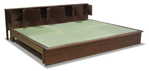 畳ベッド ヘッドボード 収納