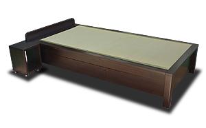 引き出し収納のある畳ベッド
