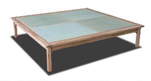 通気性のある畳ベッド