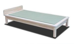 ひのき材の畳ベッド