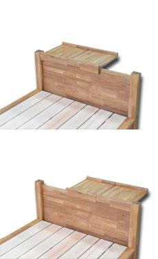 すのこベッド 畳ベッド テーブル付き