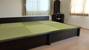 畳ベッド 大きいサイズ 棚