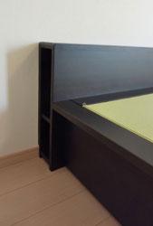 畳 ベッド 大きいサイズ 棚付き