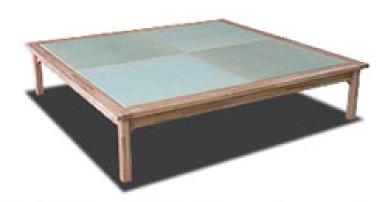 畳ベッド 通気性のよい4本脚タイプ