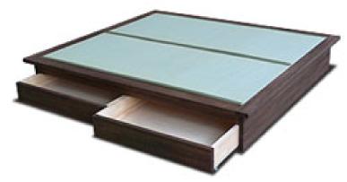 畳ベッドの畳表 へり付き1畳