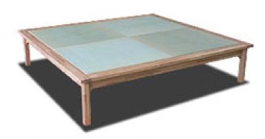 畳ベッドの畳表 へり無し半畳
