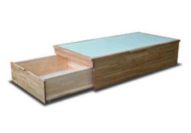 畳ベッドの引き出し収納 足元から1ヶ