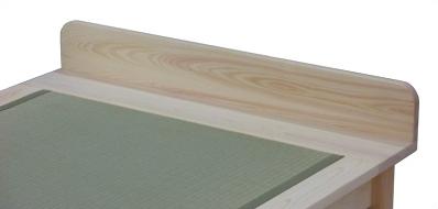 Sタイプ畳ベッドのヘッド部分