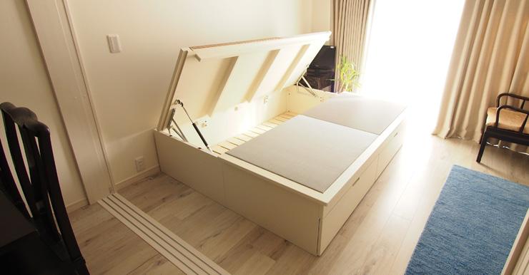 オーダー畳ベッド