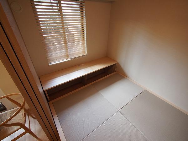 オリジナルユニット畳 勉強机 オープン棚