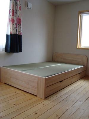 畳ベッド 国産い草