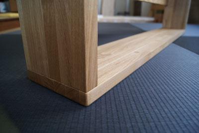 和室用畳ベッドの脚部