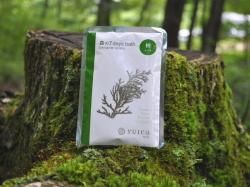 100%天然yuicaエッセンシャルオイル(精油)配合 ヒノキの香りの入浴剤