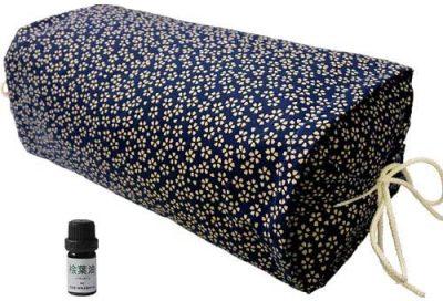 ひのき枕 ごろ寝 小桜ブルー