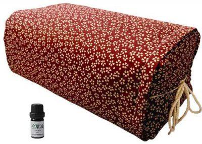 ひのき枕 ごろ寝 小桜レッド